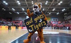 Basketball 1. Bundesliga 17/18 Hauptrunde: Walter Tigers Tuebingen - Mitteldeutscher Basketball Club
