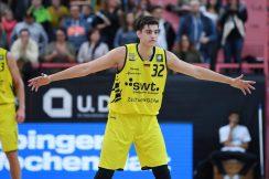 Barmer 2. Basketball Bundesliga  2018/2019  6. SpieltagTigers Tuebingen - Baunach Young Pikes   27.10.2018Nemanja Nadjfeji (Tigers)FOTO: ULMER PressebildagenturxxNOxMODELxRELEASExx
