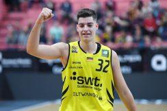 Barmer 2. Basketball Bundesliga  2018/2019  8. SpieltagTigers Tuebingen - Scouting Hagen   09.11.2018Nemanja Nadjfeji (Tigers) jubeltFOTO: ULMER PressebildagenturxxNOxMODELxRELEASExx