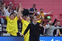 Barmer 2. Basketball Bundesliga  18/19: Tigers Tuebingen - PS Karlsruhe Lions